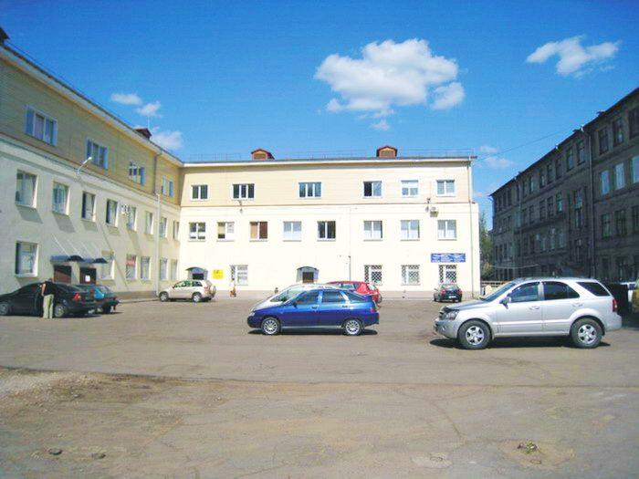 Внутренняя территория здания